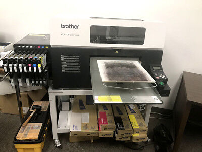 Brother GT-381 DTG Printer, Direct To Garment CMYK Ink Apparel T-Shirt