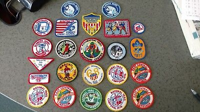 Vintage 1970's Boy Scouts of America Assorted Patches lot, 23 total patches