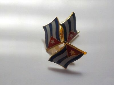 Cuba Flag of Independence from Spain Lapel or Hat Pin