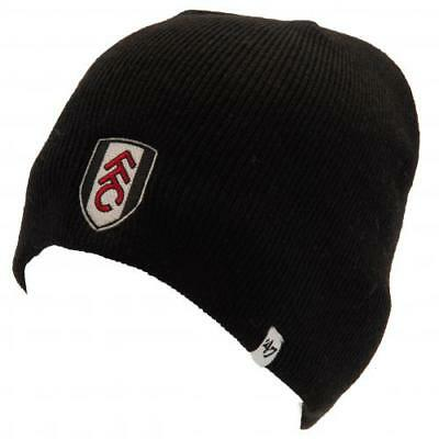 Fulham FC Knitted Hat Beanie Cap Gift Official Licensed Football Product