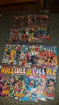 Kull The Conqueror Bronze Age Comic Book Lot Issues 1 Through 29