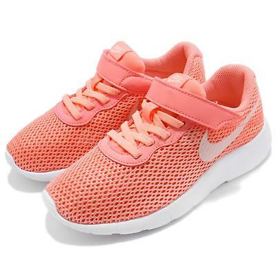 Nike Tanjun PSV Light Atomic Pink Preschool Girls Running Shoes 844872-602