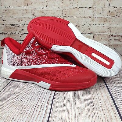 ADIDAS Boost Stableframe Crazy Light Mens Sneakers 17 Red White Basketball Shoes