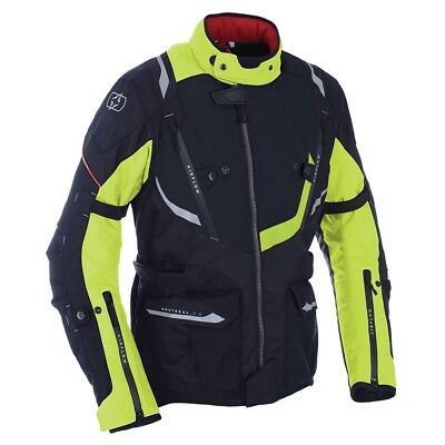 Oxford Montreal 3.0 Motorcycle Motorbike Jacket Black Fluo - NEW FOR 2018!!