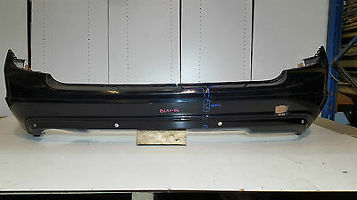 Mercedes C Class W204 Estate 2011-13 Rear Bumper With Pdc Holes Genuine Part