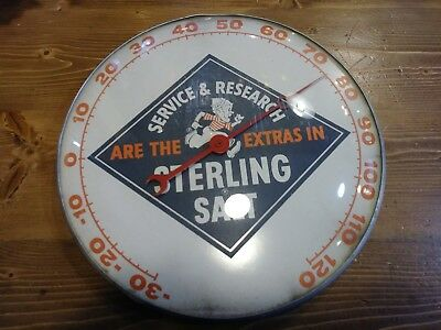 1959 Sterling Salt Thermometer 12 inch