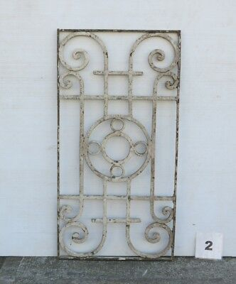 Antique Egyptian Architectural Wrought Iron Panel Grate (IS-002)
