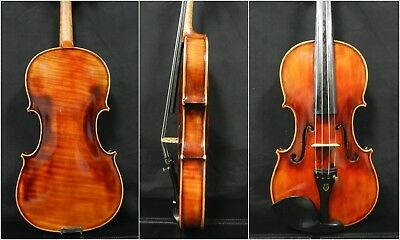 Fine Professional Violin 4/4 Full Size,Dominant Strings ,One Piece Back