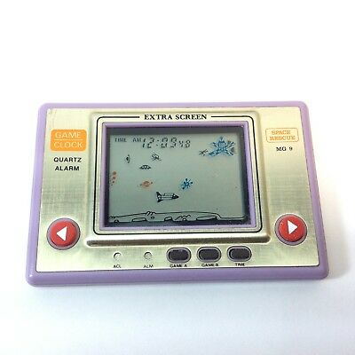 Vintage Tronica LCD Game & Watch Space Rescue MG-9