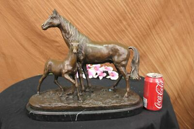 Statue Sculpture Horse Colt Bronze 25 Lbs 14 inches high x 17 inches long Figure