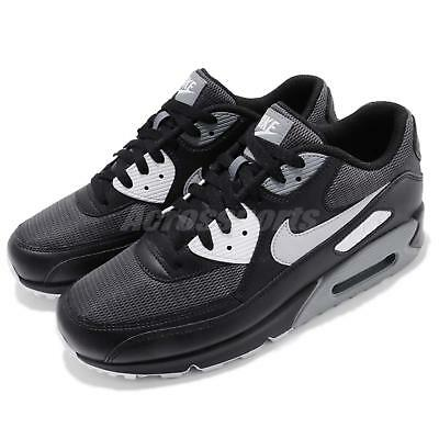 sports shoes f6274 12c10 Nike Air Max 90 Essential Black Wolf Dark Grey Men Running Shoes AJ1285-003