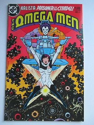 Dc Omega Men #3 First Appearance Of Lobo Vf Copy