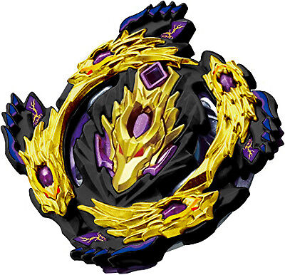 Special Edition BLACK GOLD Bloody Longinus / Luinor Burst BOOSTER Beyblade B-110