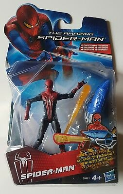 THE AMAZING SPIDER-MAN ☆ Movie Series ☆ Web Cannon SPIDER-MAN ☆Hasbro 2011☆ MOSC