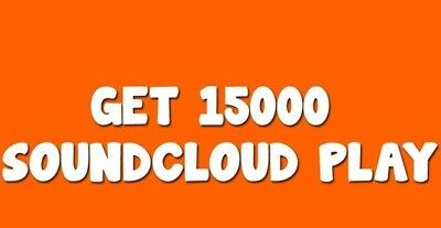 15.000 Soundcloud Plays For Your Track!
