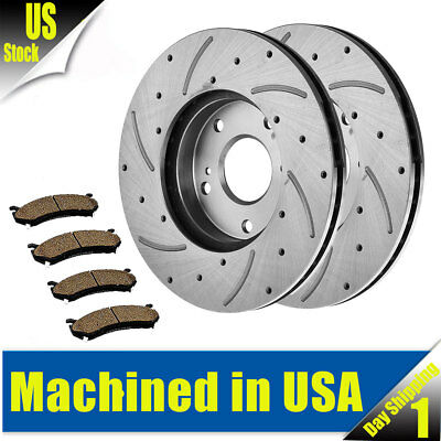 Disc Brake Rotor-OE Type Drilled Disc-Preferred Front fits 06-13 Corvette