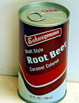 Schwegmann Root Beer; Lastarmco, Inc.; Abbevillle, LA; Steel Soda Pop Can