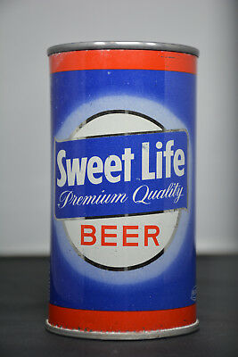 Sweet Life Beer flat-top can, Cumberland Brewing, Cumberland, MD *SHARP*