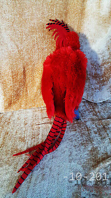 """23"""" Red Mythical Creature Albus Dumbledore pet Phoenix Harry Potter Great Timing"""