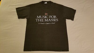 Depeche Mode Official *Super Rare* Music For The Masses Shirt ((See Pics))