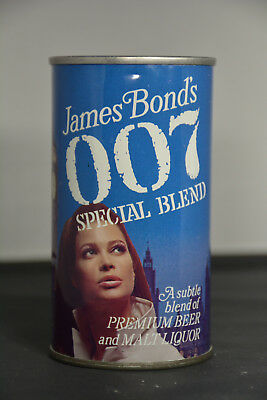James Bond 007 Special Blend pull-tab can. *NICE EXAMPLE of NB-597*