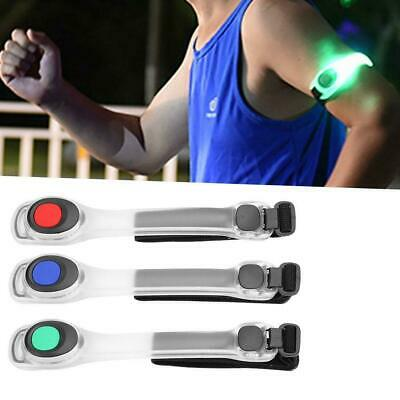 Cycling Running Jogging LED Flashing Safety Night Reflective Belt Strap Arm Band