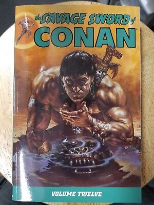 Savage Sword Of Conan Volume 12 Graphic Novel Tp Dark Horse New Oop