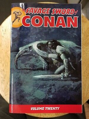 Savage Sword Of Conan Volume 20 Graphic Novel Tp Dark Horse New Oop