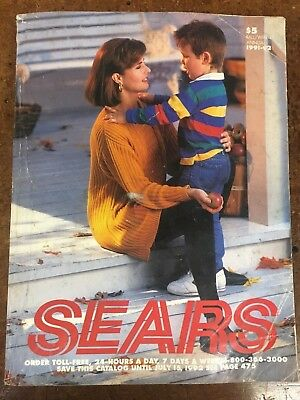 1991 Sears Roebuck & Co. Catalog Fall & Winter