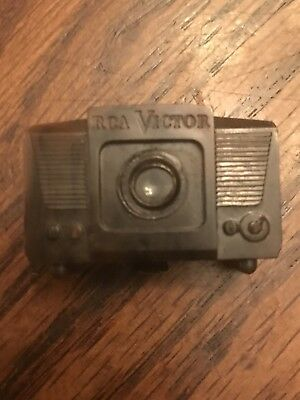 Antique RCA Victor Television Set Mini Slide Viewer, Slide Inserted, Rare