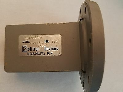 Solution Devices 91129 Waveguide Termination G-Band WR-187 Microwave 8769632-1