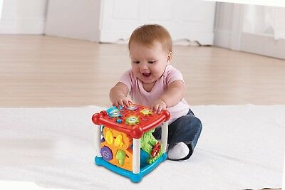 VTech Baby Turn & Learn Cube for 6-36 Months
