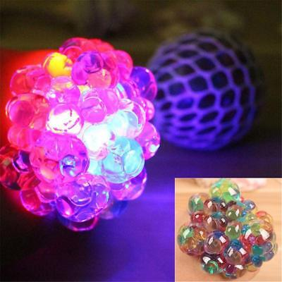 DE Stock Mesh Water Beads Ball Squeeze Anti Stress Reliever Kids Child Toy Fun