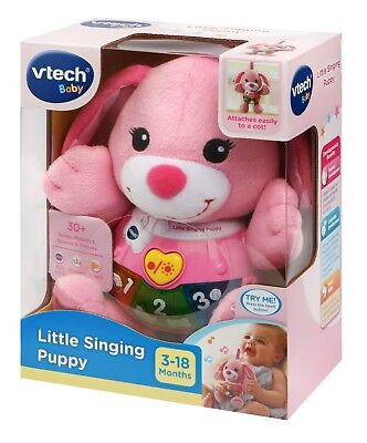 VTech Little Singing Puppy in Pink for 3-18 Months