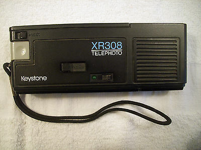 Keystone XR308 Telephoto Everflash Camera Item41-22
