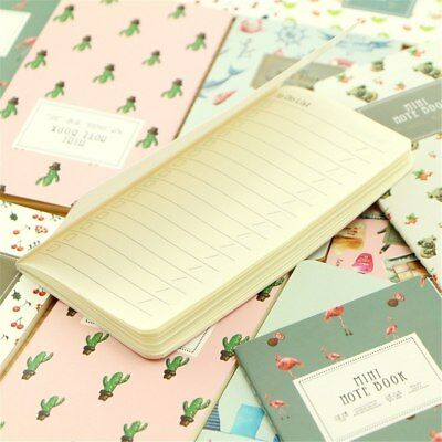 24 Sheets Cactus Flamingo Cherry Planner Notebook To Do List Planner Organizer