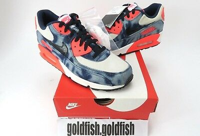 cheap for discount 6c5a4 cd2f7 Ds Nike Air Max 90 Dnm Qs Infra Red Washed Denim 700875 400