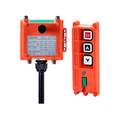 New Wireless Industrial Remote Controller Electric Hoist Crane Controller F21-2S
