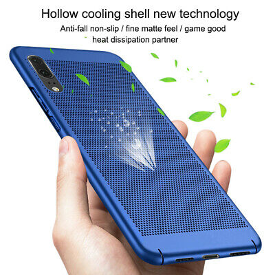 360 Full Shockproof Hollow Hard PC Cover Case For Huawei P20 Pro P10 Lite Mate 9