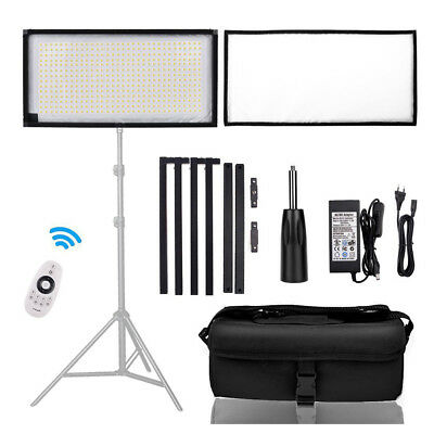 FOSITAN Dimmable Flexible LED Video Light CRI90 Photography Shooting Light Panel