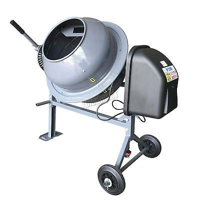 240-V Portable Electric Rolling Concrete Cement Mixer Mortar Plaster Machine