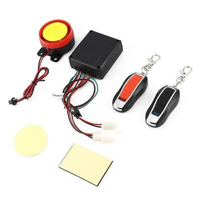 Motorcycle ATV Anti-theft Alarm Security System Remote Control Engine Start Kit