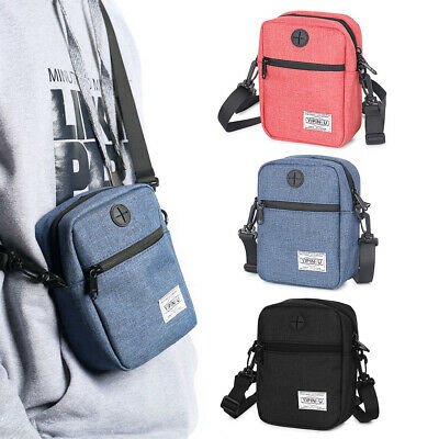 Portable Oxford Cloth Waterproof Passport Holder Neck Travel Phone Pouch Bag