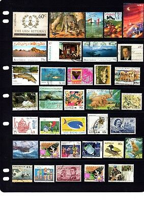 Australian sheet stamps, including high value, free post - off paper - Lot 419.