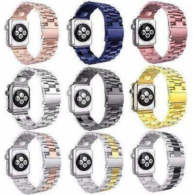 For Apple Watch Series 4 40mm/44mm Strap Stainless Steel Watch Bands