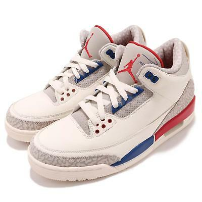 62ac89723d43 Nike Air Jordan 3 Retro III AJ3 International Flight Charity Game Men 136064 -140