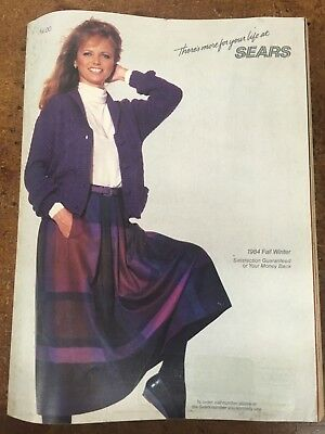 1984 Sears Roebuck & Co. Catalog Fall & Winter