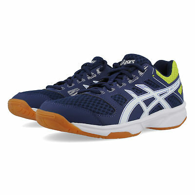 Asics Junior Gel-Flare 6 Indoor Court Shoes Blue Sports Basketball Trainers
