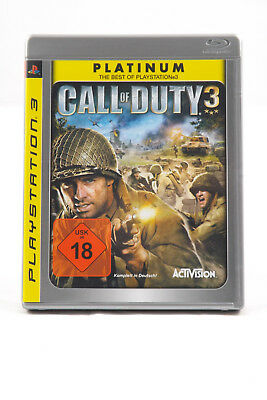 Call of Duty 3 (Sony PlayStation 3) PS3 Spiel in OVP, PAL, CIB, TOP, SEHR GUT