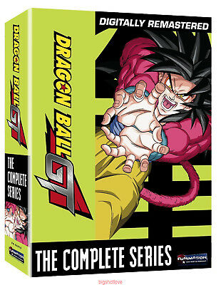 DVD DragonBall GT: The Complete Series (DVD, 2010, 10-Disc Box Set) New Sealed A